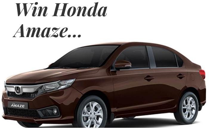 Airtel Mega Win Season 21 Contest 2019 Win Honda Amaze